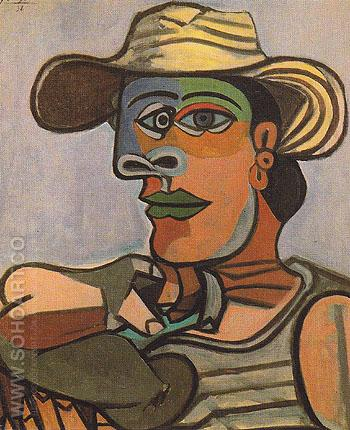 The Sailor 1938 - Pablo Picasso reproduction oil painting