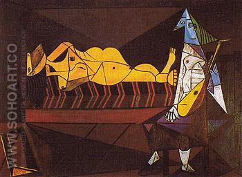 L Aubade 1942 - Pablo Picasso reproduction oil painting