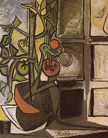 Tomato Plant 1944 - Pablo Picasso reproduction oil painting