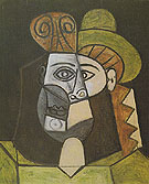 Head of a Woman 1947 - Pablo Picasso reproduction oil painting