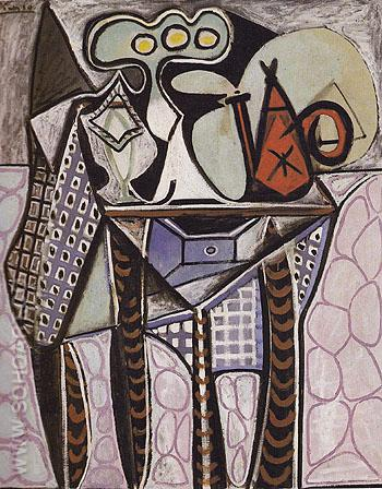 Still Life on a Table 1947 - Pablo Picasso reproduction oil painting
