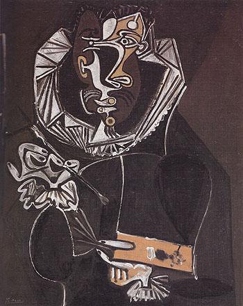 Portrait of a Painter 1950 - Pablo Picasso reproduction oil painting