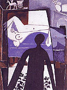 The Shadow 1953 - Pablo Picasso reproduction oil painting