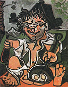 El Bobo 1959 - Pablo Picasso reproduction oil painting
