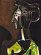 Great Profile 1963 - Pablo Picasso reproduction oil painting