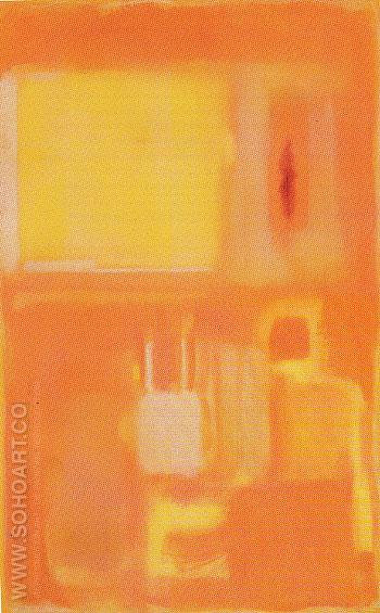 No 14 Golden Composition 1949 - Mark Rothko reproduction oil painting