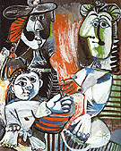 The Family 1970 - Pablo Picasso reproduction oil painting