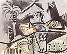 Landscape 1972 - Pablo Picasso reproduction oil painting