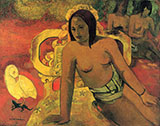 Vairumati c1897 - Paul Gauguin