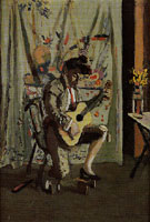 The Guitarist c1902 - Henri Matisse reproduction oil painting