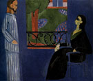 Conversation c1908 - Henri Matisse reproduction oil painting