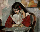 Marguerite Reading 1906 - Henri Matisse reproduction oil painting