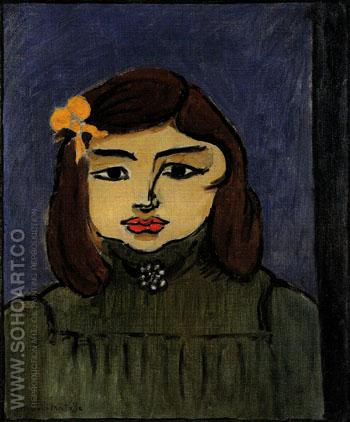 Nono Mlle Lebasque 1908 - Henri Matisse reproduction oil painting