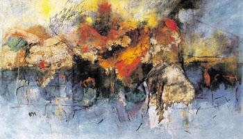Ildebrand c 1954 - Oluf Host reproduction oil painting