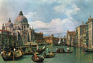 The Grand Canal and the Church of the Salute,1730 - Giovanni Antonio Canal Canaletto