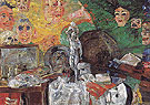 Still Life in the Studio 1889 - James Ensor