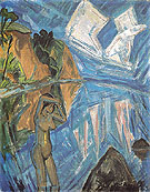 Glass Day 1913 - Erich Heckel