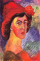 Self Portrait c1910 - Marianne von Werekfin