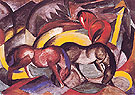 Three Horses 1912 - Franz Marc