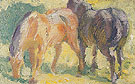 Small Picture of Horses 1909 - Franz Marc