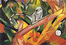 The Monkey 1912 - Franz Marc