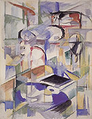 Composition with Animals 1913 - Franz Marc