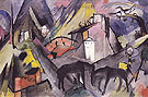 The Poor Country of Tyrol 1913 - Franz Marc