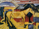 The Long Yellow Horse 1913 - Franz Marc