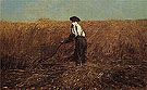 The Veteran in a New Field 1865 - Winslow Homer reproduction oil painting