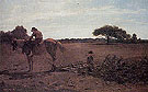 The Brush Harrow 1865 - Winslow Homer reproduction oil painting