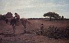 The Brush Harrow 1865 - Winslow Homer