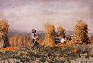 Pumpkin Patch 1878 - Winslow Homer reproduction oil painting