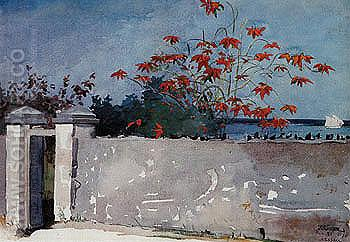 A Wall Nassau 1898 - Winslow Homer reproduction oil painting