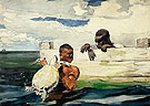 The Turtle Pound 1898 - Winslow Homer reproduction oil painting