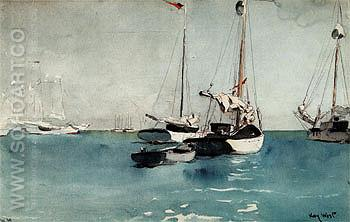 Key West 1903 - Winslow Homer reproduction oil painting