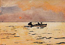 Rowing Home 1890 - Winslow Homer reproduction oil painting