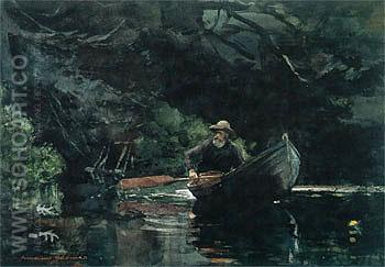 The Guide 1889 - Winslow Homer reproduction oil painting