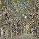 Avenue in Schloss Kammer Park 1912 - Gustav Klimt