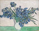 Irises 1890 2 - Vincent van Gogh reproduction oil painting