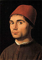 Portrait of a Young Man c1475 - Antonello da Messina