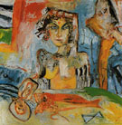 The Bride the Oyster and the Singing Red Fish 1985 - John Bellany