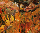 Trees in Sun Cyprus 1948 - David Bomberg