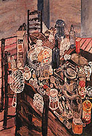 Still Life with a Chip Frier 1954 - John Bratby
