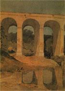 Chirk Aqueduct Wales c1804 - John Sell Cotman