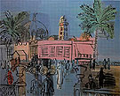 The Pier and Promenade at Nice c1924 - Raoul Dufy