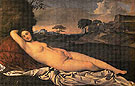 The Sleeping Venus c1507 - Giorgio de Castelfranco Giorgione reproduction oil painting