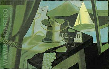 The Bay 1921 - Juan Gris reproduction oil painting