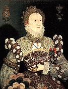 Queen Elizabeth I Pelican Portrait c1572 - Nicholas Hilliard