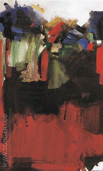 Nulli Secundus 1946 - Hans Hofmann reproduction oil painting