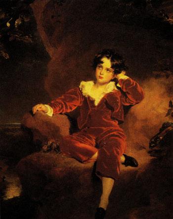 Charles William Lambton 1825 - Sir Thomas Lawrence reproduction oil painting